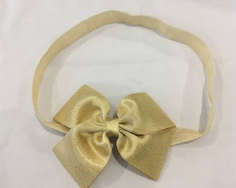 Elastic knotted headband for women or children over 10 years