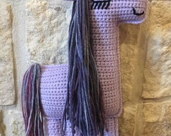 Crocheted Unicorn- Crocheted Unicorn Ragdoll-Crocheted Unicorn Plushie-Crocheted Stuffed Unicorn-Unicorn Baby Shower Gift