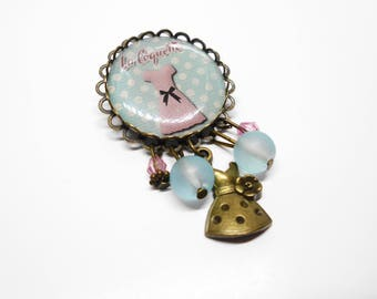 Jewelry Pin'up - rockabilly pin