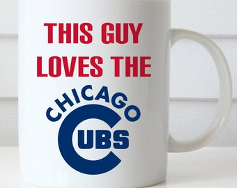 Chicago Cubs Coffee Mug, Cubs Fan, Central Division Champions, GO CUBS GO Coffee Mug, Fly the W