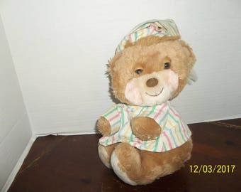 vintage 1985 fisher price quaker oats 1401 teddy beddy bear plush