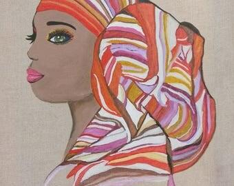 "SAOU - collection ""Women of ebony"" 2015/2017"