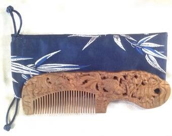A0008- Wooden Comb