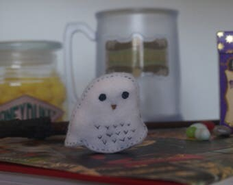 Harry Potter Hedwig Keychain