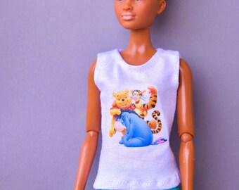Barbie clothes - Barbie shirt & Barbie pants