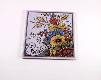 Floriade Ceramic Tile 1992