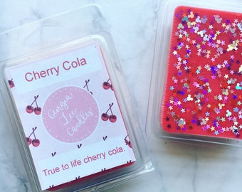 Cherry Cola scented wax clam shell