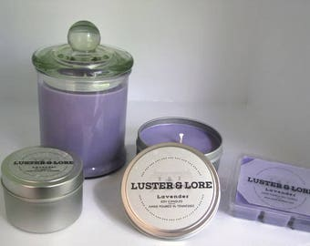 Lavender Natural Soy Candle