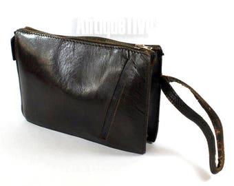 Brown Leather Handbag, Leather Handbag, Vintage Handbag, Handmade Handbag, Cross Body Purse, Custom Leather Handbag