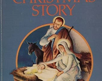 "a Little Golden Book,""The Christmas Story"", First Christmas, Children's Book, Storybook"