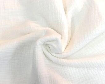 Cotton double creponne Haute Couture