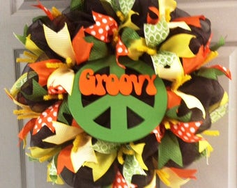Retro Wreath