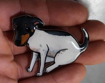 Jack Russell Terrier Magnet: Great gift for Dog lover for car, locker or fridge Jack Russell loss memorial