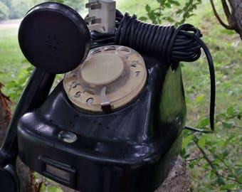 Vintage Rotary Phone Telephone Vintage Retro Home Telephone Old Rotary Telephone Office Decor Rotary Desk Phone Home decor