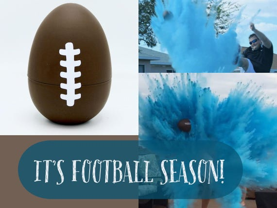 FOOTBALLS Gender Reveal (Custom Combinations) Gender Reveal Football