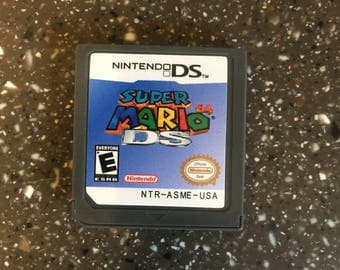 Super Mario 64 DS Nintendo DS Lite 3DS Video Game