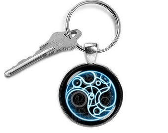 Time Lord Keychain Time Lord Keyfob Dr Who Keyring Doctor Who Geeky Fangirl Fanboy