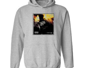 D12 Devils Night Hoodie Classic Vintage Style Hip Hop Fleece Sweatshirt Rap Merch Shady Records Eminem Revival Detroit Emcees New