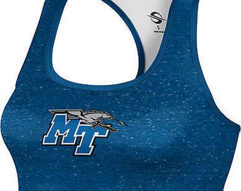 ProSphere Women's Middle Tennessee State University Heather Sports Bra (MTSU)