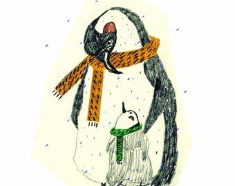 Animal illustration Prints