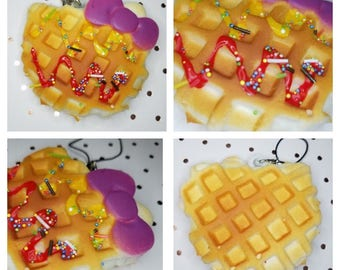 Squishy Waffle (double drizzle)