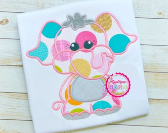 Elephant Applique Design, Elephant Embroidery Design, Zoo Applique, Animal Applique design, Girl Elephant, Boy Elephant, Applique Design