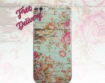 FREE SHIPPING Rustic Roses iPhone 7/7+/6/6S/6+/6S+65/SE, Galaxy S8/8+/7/7Edge/6/6Edge/5/Note5/J7Prime, Huawei P8/8PLite2016/P9/P9Lite/P10