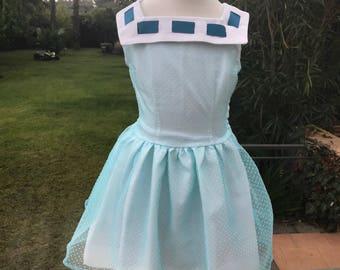 Girl's Chiffon Party Dress