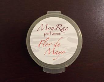 Flor de Mayo solid perfume sample