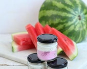 Fresh Watermelon Slushie 3 oz Soy Candle | Travel Candle | Container Candle | Homemade Candles | Food Scented Candle | Watermelon Scented
