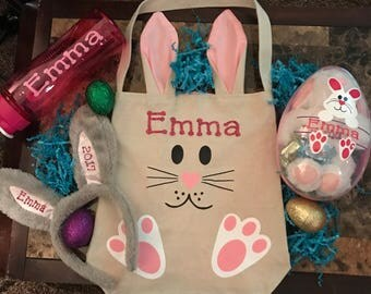 EASTER bunny burlap BUNDLE