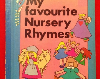 My Favourite Nursery Rhymes Nutshell Series, complied by Sharon Cadman, Illustrated by Christine Boehm