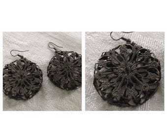 Anniversary Sale Cool Vintage Circular Earrings