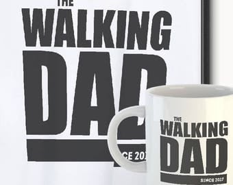 Father's Day The Walking Dad TShirt