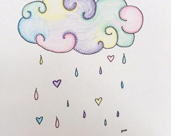 Cloud Nursery Art