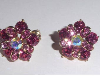 Amethyst Style Sparkly earrings.