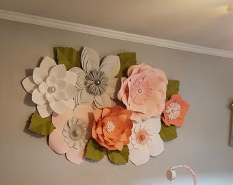 Paper Flower Backdrop-******CUSTOMIZE YOUR ORDER******