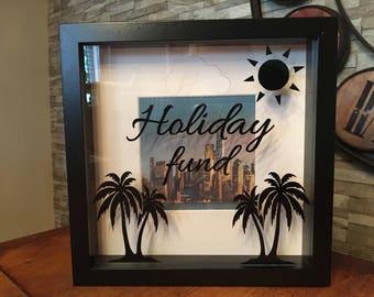 Holiday fund money box
