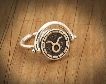 BiggDesign Horoscope Ring, Taurus