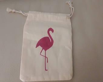 Flamingo bag woman girl purse
