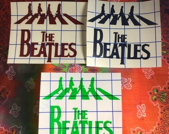 The Beatles Abbey Road sticker / decal