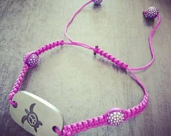 Honu Shamballa bracelet