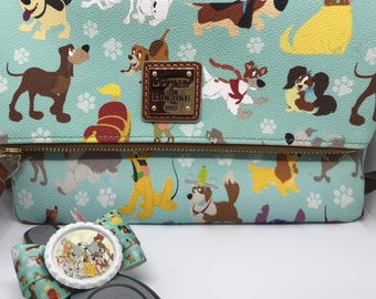 Disney Dogs Dooney and Bourke Magic Band Bow Hair Bow