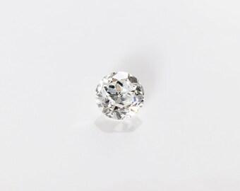 Antique Old European Cut Diamond, F VS2, 0.31 Ct