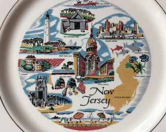 New Jersey Collectors Plate
