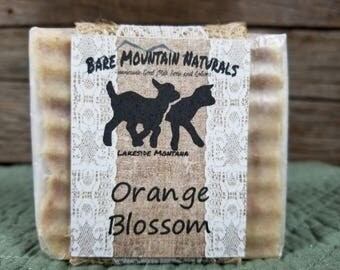 Orange Blossom fragrance All Natural Goat Milk Soap