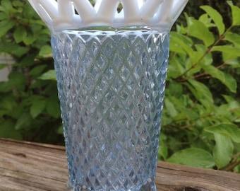 Vintage Imperial Glass opalescent vase