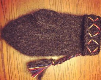 Swedish homemade knitted mittens/Lovikka/vantar