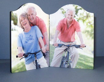 Personalised Chromaluxe Photo Panel Arch