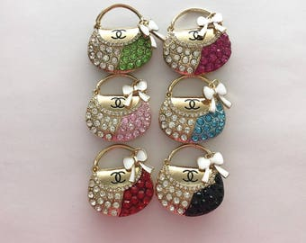 Alloy purse charms